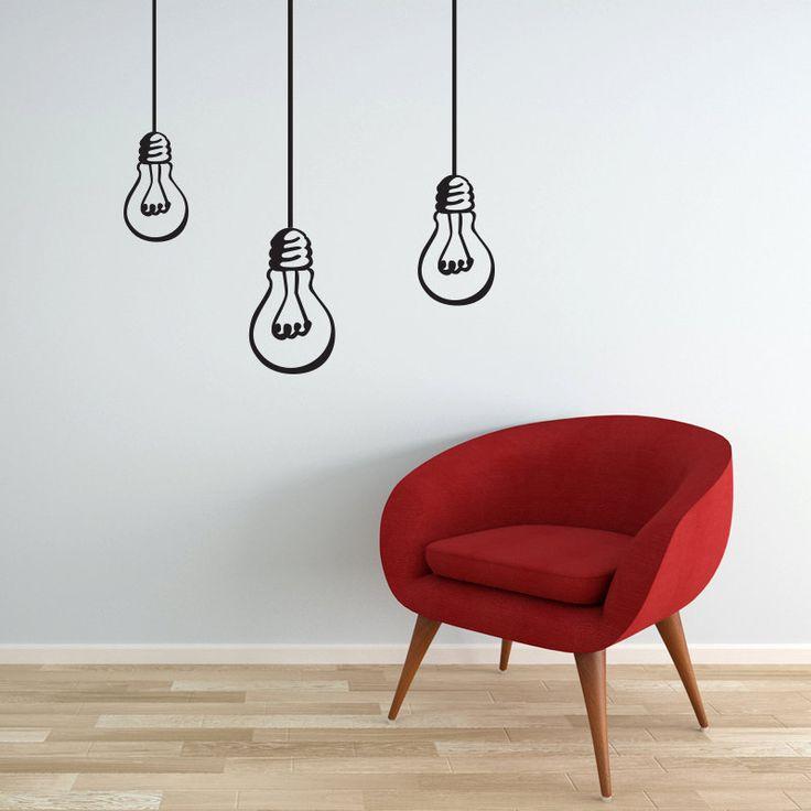 Hanging Lamp Wall Sticker: 61 Best Vinyl Graphics Images On Pinterest