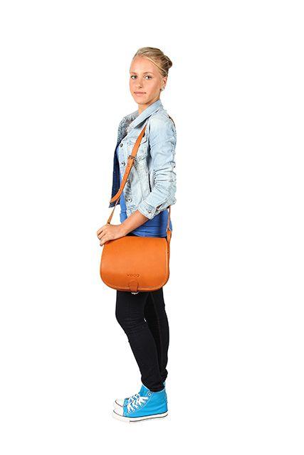 Duża torba listonoszka w stylu vintage torebka damska VOOC Vintage P27.