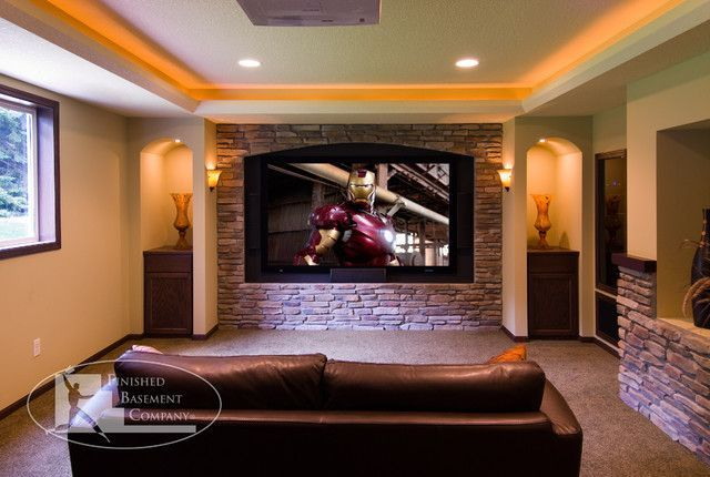 Basement Home Theatre Ideas Property 823 best basement home theater ideas images on pinterest