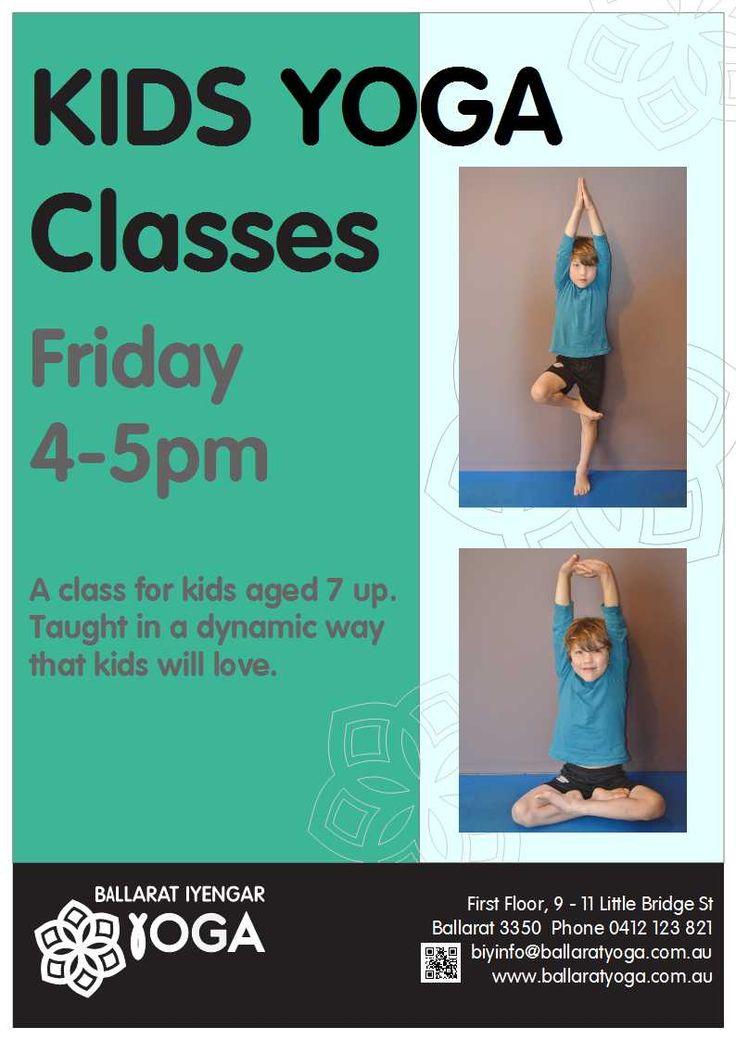 Age 7 and up - kids Yoga Classes @ Ballarat Iyengar Yoga #ballaratyoga