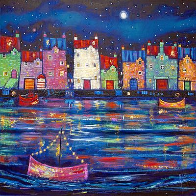 Ritchie COLLINS artist, paintings and art at the Red Rag Scottish Art Gallery