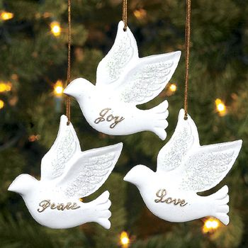Best Photos of Dove Christmas Ornaments To Make - Felt Dove ... | Christmas  Images | Ornaments, Christmas Ornaments, Christmas - Best Photos Of Dove Christmas Ornaments To Make - Felt Dove