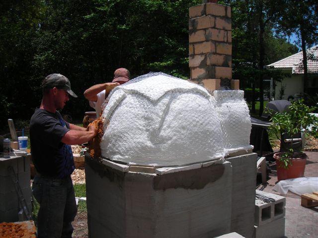 """Ceramic Fiber Blanket Insulation 50SF x 1"""" Pizza Oven Boiler Stove Furnace   eBay"""