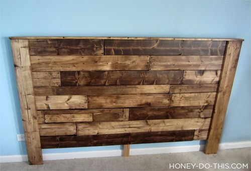 1000 ideas about pallet headboards on pinterest barn for How to make a king size headboard out of pallets