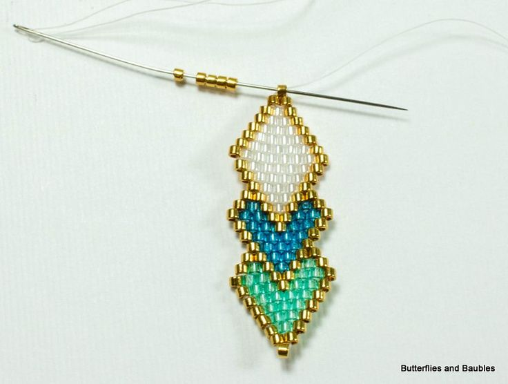 I recently purchased a small package of Miyuki 24 karat gold plated Delicas, and they have raised my bead stitched pendants to a whole new level of glam. I am so glad I made that purchase. They&#8…