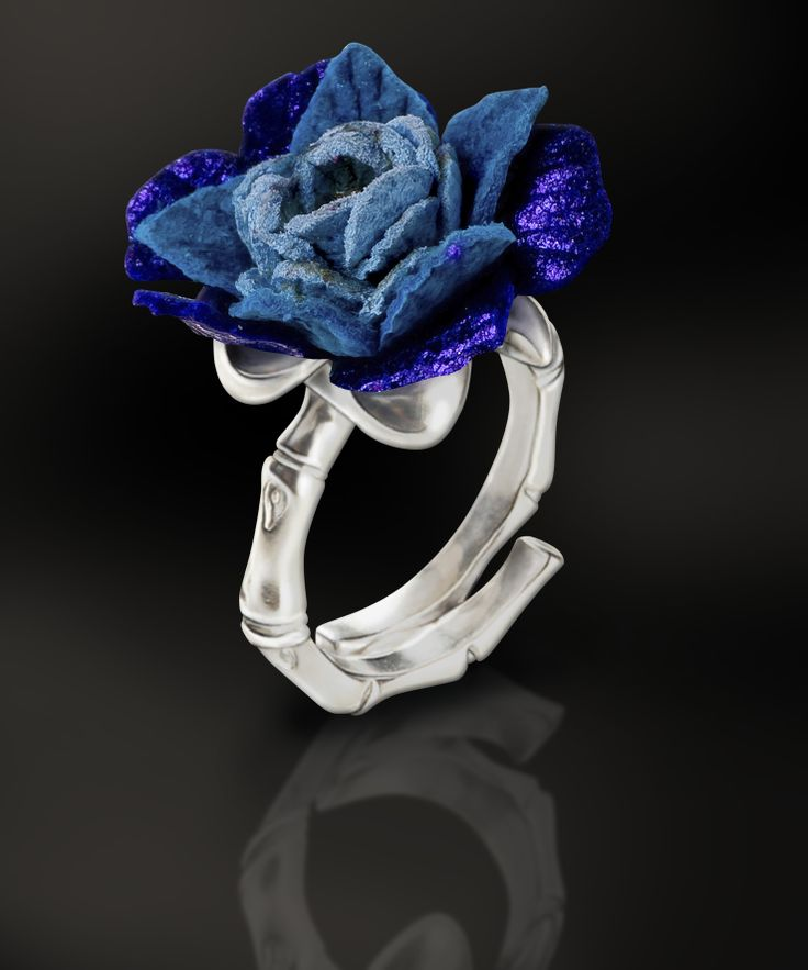 Kids Ring: Silver 925ml, Leather