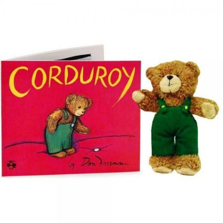 New Corduroy Book and 14'' Inch Plush Bear Set by Kohls Cares for Kids