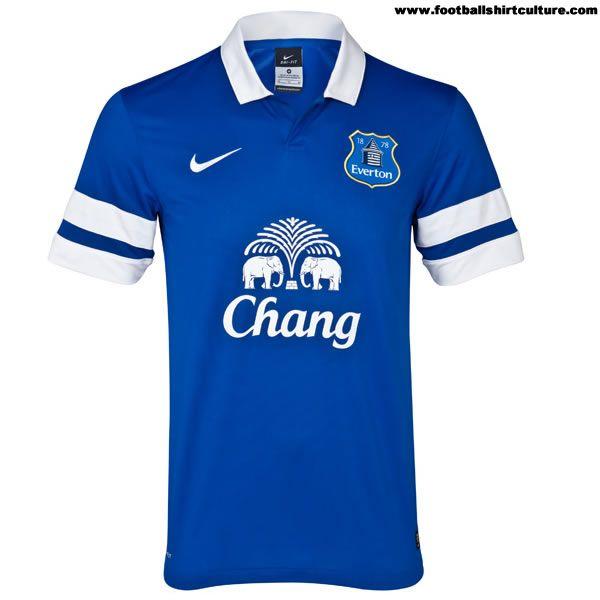 Everton 13/14 Nike Home Football Kit