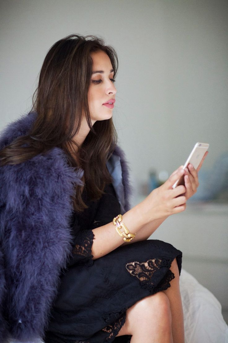 Ingrid Holm blog, feather jacket, embroidered dress