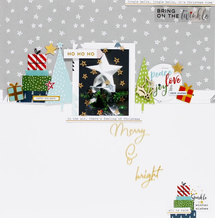 Merry and bright - Scrapbook.com