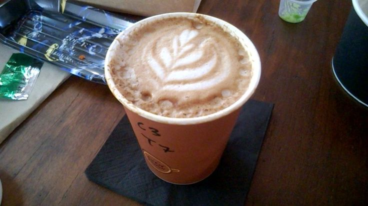 A cup of #Cappuccino that doesn't taste like one... In terms of taste and texture #GreenHouseByMuir #Cafe