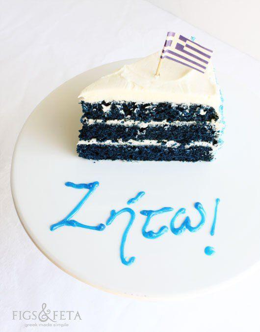 Blue Velvet Cakes Pinterest