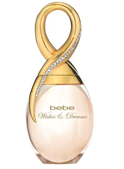 Bebe Wishes & Dreams' scent is a product of the smooth blending of a fruity top made of bergamot and pear with a floral heart featuring violet, jasmine and osmanthus and a warm woody base.