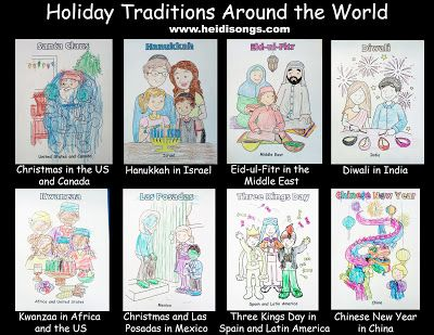 234 best Preschool Holidays Around the World Theme images on