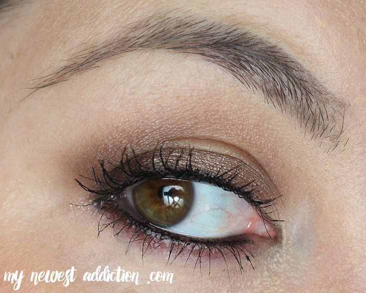 Smoky Taupe Eye Makeup Look