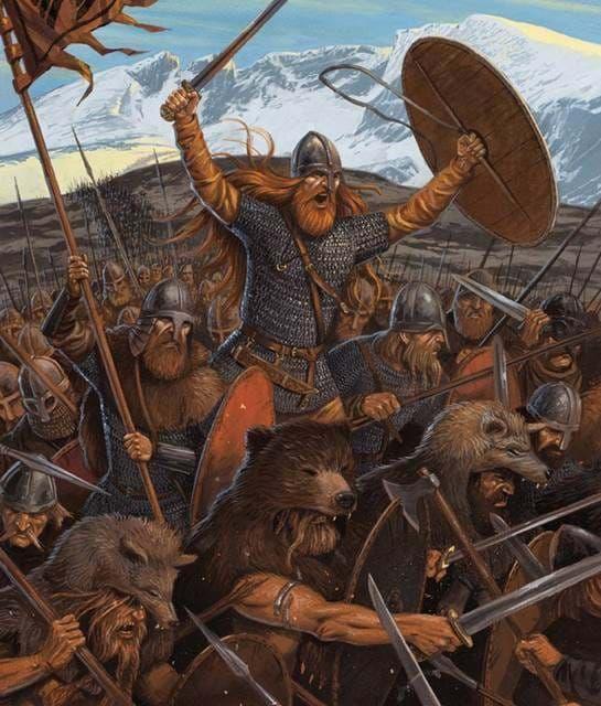 фото происхождения викинги история