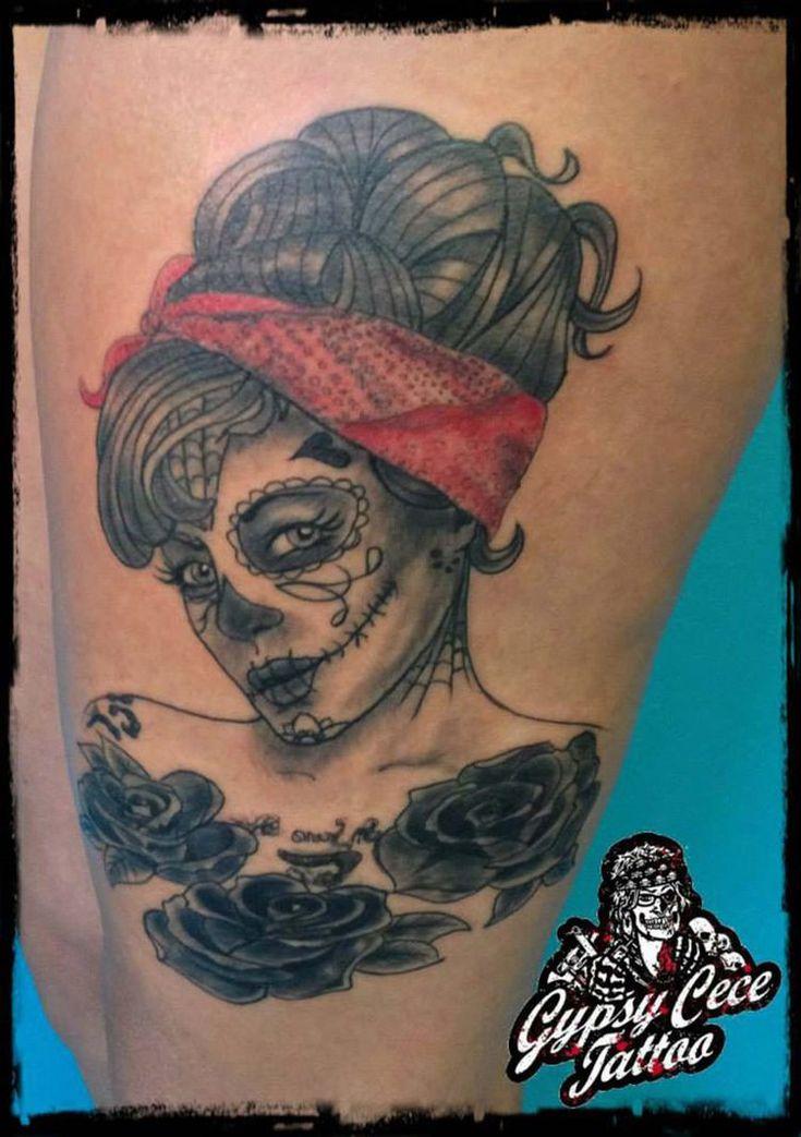 Sugar Skull Tattoo by GypsyCece ...