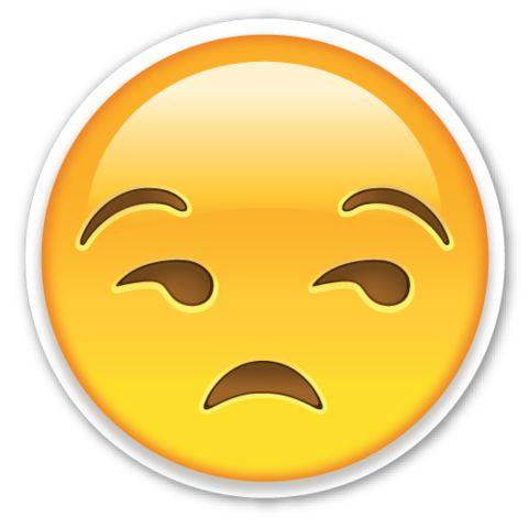 Unamused Face | EmojiStickers.com