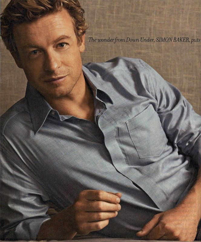 Simon Baker aka Patrick Jane of The Mentalist