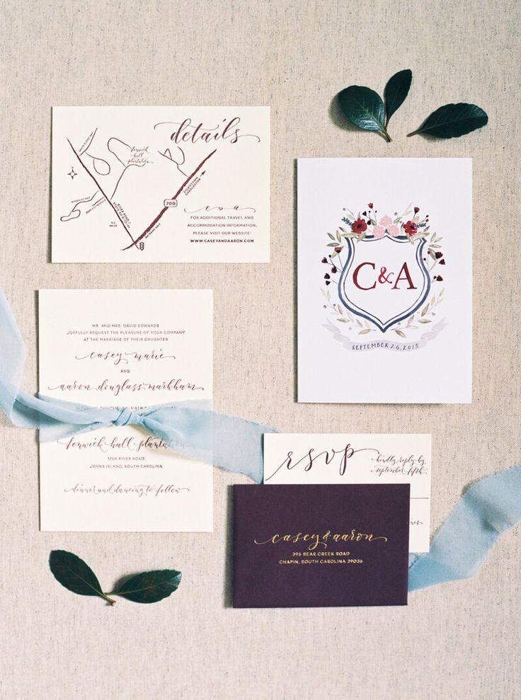 wedding invitations atlanta%0A wedding invitations from Johns Island Wedding  South Carolina