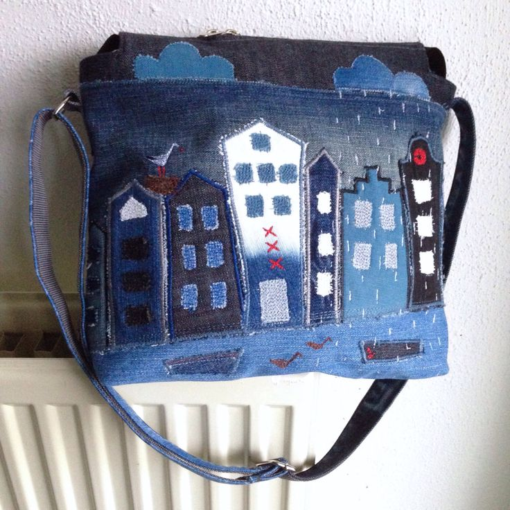 A personal favourite from my Etsy shop https://www.etsy.com/listing/488302542/rainy-amsterdam-bag-blue-denim-patchwork