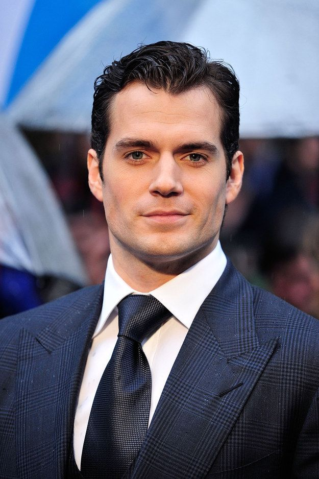 Only Henry Cavill and his impeccable jawline can. | 19 Times Henry Cavill's Jawline Was Out Of Control