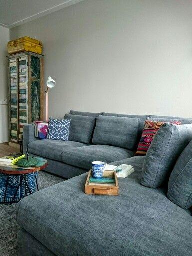 25 beste idee n over linnen bank op pinterest linnen sofa en neutraal kleurige bank - Landelijke chique lounge ...