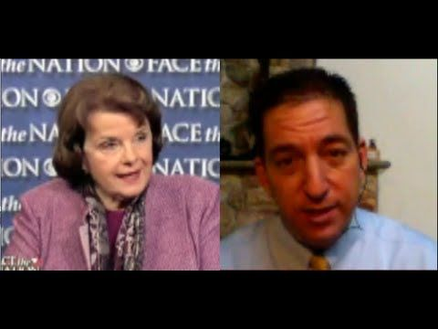"""▶ Glenn Greenwald: """"Dianne Feinstein is Outright Lying"""" about NSA Surveillance Abuses - YouTube"""