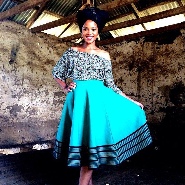 Lusanda Kori Ntombobom Designs.  #Xhosa #ProudlySA #Traditional  ntombobom's photo on Instagram