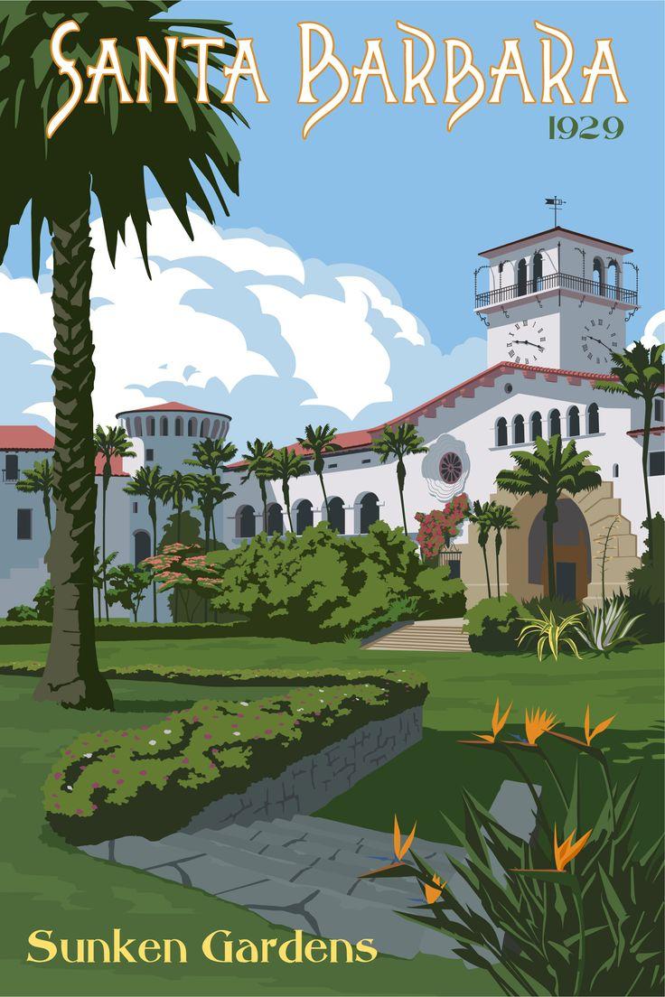 Just Looking Gallery. Steve Thomas. Santa Barbara Sunken Gardens. Zippertravel.com Digital Edition