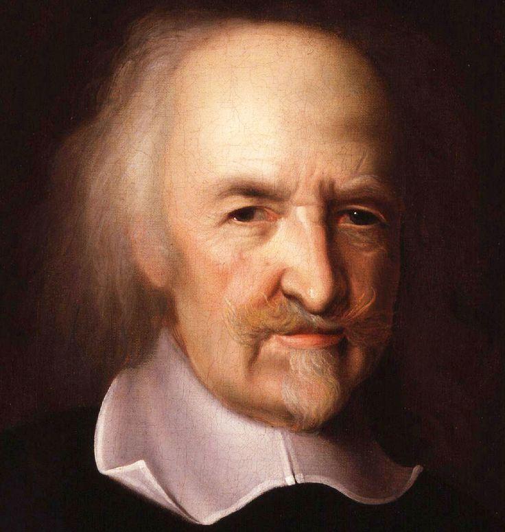 THOMAS HOBBES (1588-1679). Filósofo inglés cuya obra influyó de manera importante en el desarrollo de la filosofía política occidental. Es el teórico por excelencia del absolutismo político. John Michael Wright. Siglo XVII.