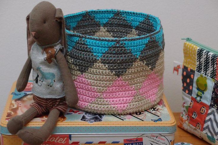 New crochet basket  www.vjahodovce.blogspot.com
