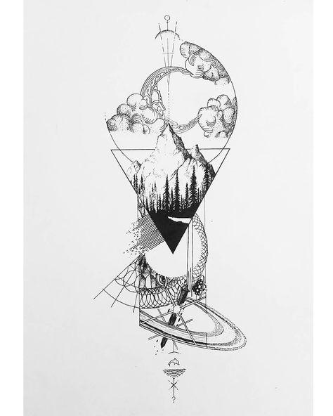 Spektakuläre Darstellung unseres Sonnensystems von Ad Noctvm (Col) Southamerica #blackworknow, wenn Sie Submissions / business inq vorgestellt werden möchten …