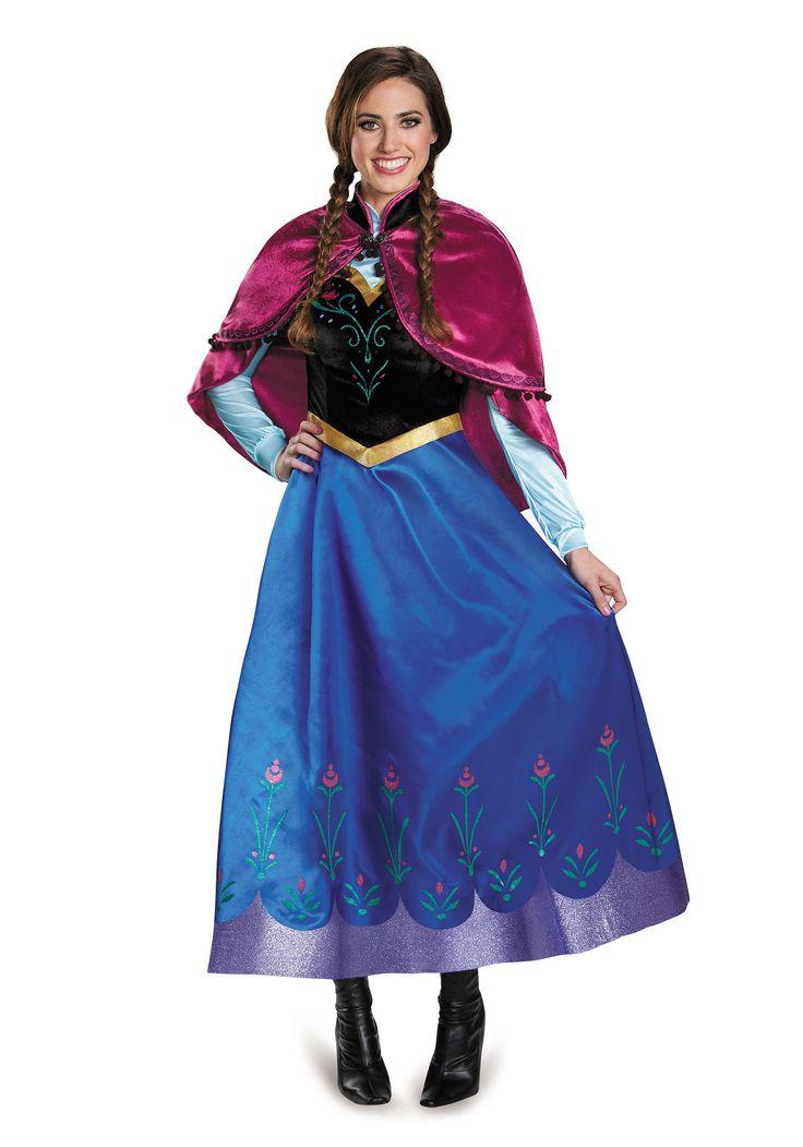 Best 25 adult anna costume ideas on pinterest frozen halloween costumes elsa party costume - Costume princesse disney adulte ...