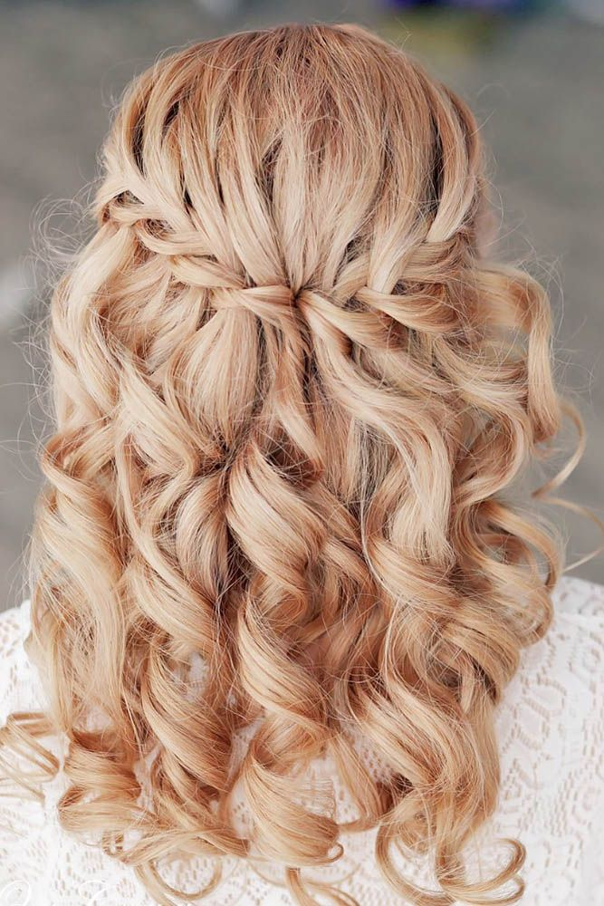 Hairstyle For Wedding 36 mother of the bride hairstyles 24 Creative Unique Wedding Hairstyles From Creative Hairstyles With Romantic Loose Curls To