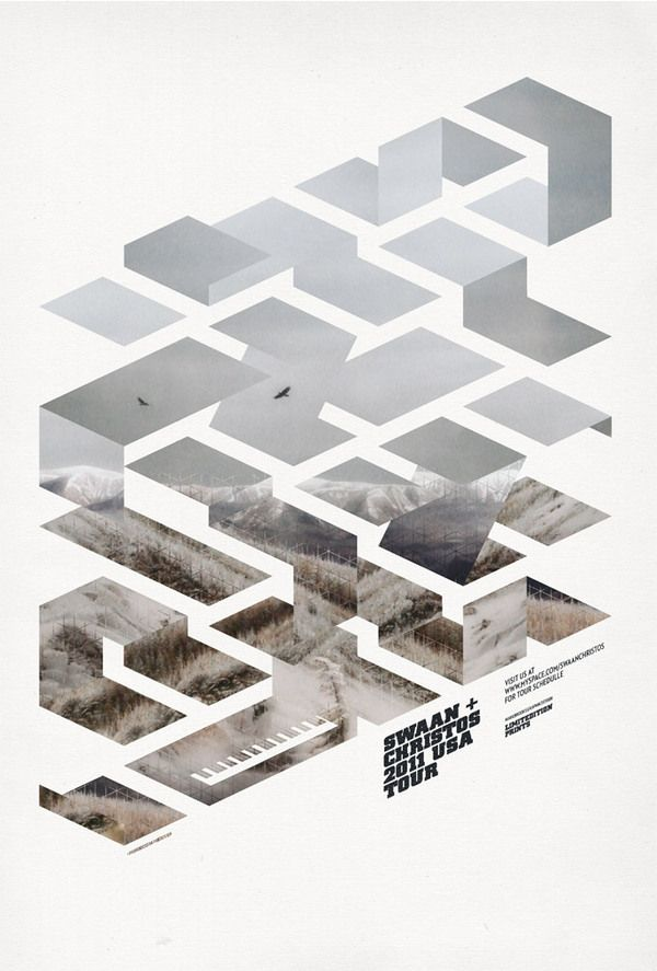 Mark Brooks - Promotional posters for the 2011 Swaan + Christos USA Tour