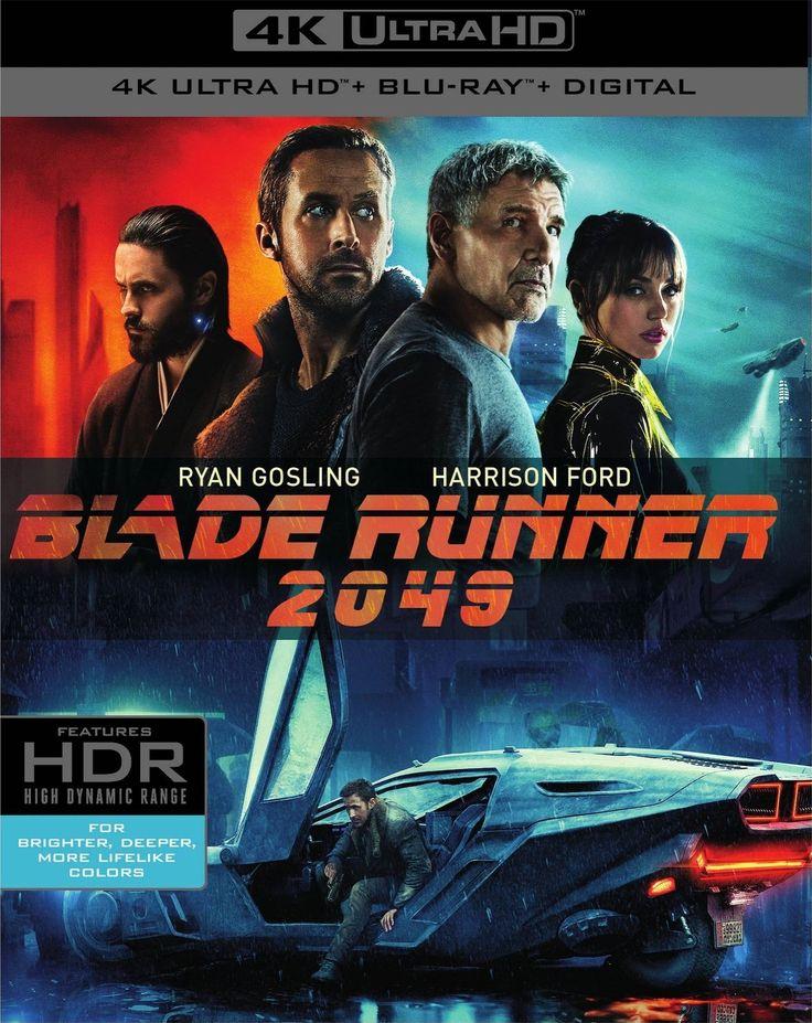 Blade Runner 2049 4K (2017) UHD Ultra HD Blu-ray http://www.hdmoviesource.com/Blade-Runner-2049-4K-Blu-ray-p/11432.htm #Bluray #BladeRunner2049