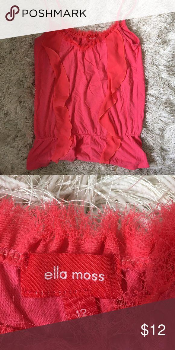 Ella Moss pink cami top. Size XS. Perfect condition Ella moss camisole in size XS Ella Moss Tops
