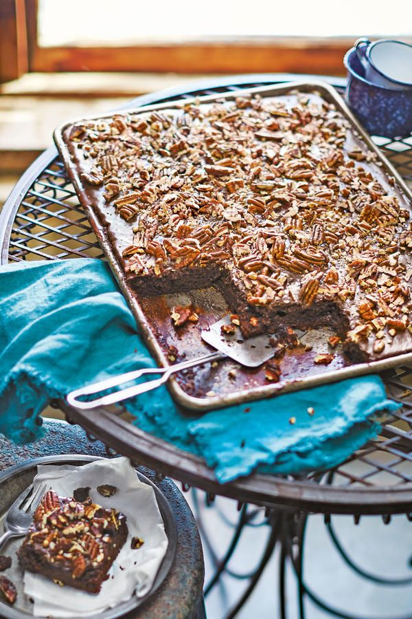 All-Time Favorite Desserts: Texas Sheet Cake with Fudge Icing