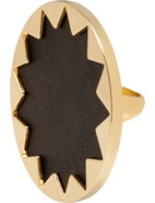House Of Harlow 14 Karat Yellow Gold Plated Sunburst Cocktail Ring #houseofharlow #gold #ring #jewellery #accessories #chic #davidjones @House of Harlow 1960 #nicolerichie