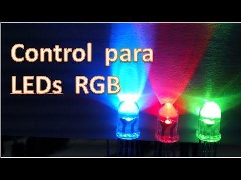 Control para Led RGB (Secuencia multicolor) Como se hace