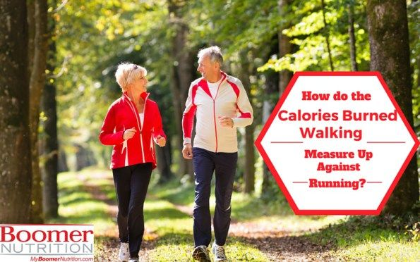 How do the Calories Burned Walking Measure Up Against Running?