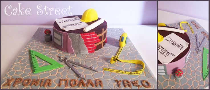 Civil Engineer Cake!
