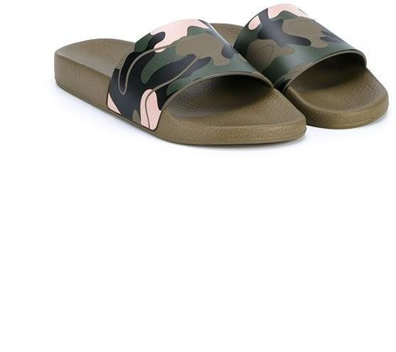 Pin for Later: 20 Stylish Pairs of Slides to Slip Into Your Gym Bag Valentino Camo Slide Valentino Camo Slide (£272)