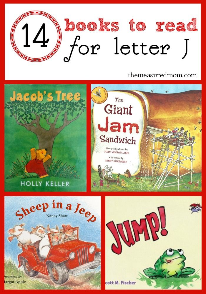 You'll love the variety in this list of 14 letter J books!