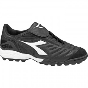 Diadora Maracana TF W Soccer Cleats Womens Black Leather - ONLY $97.95