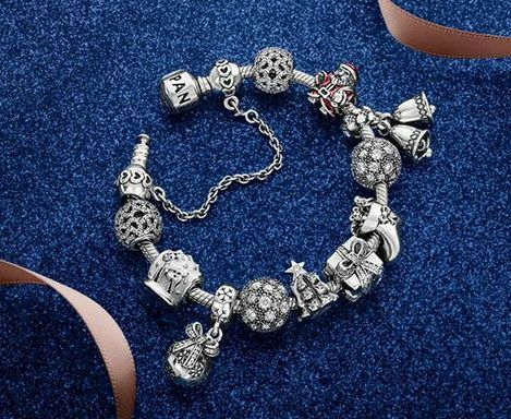 Pandora Christmas bracelet.  See the charms and get yours at the Pandora Store at Franklin Park Mall in Toledo