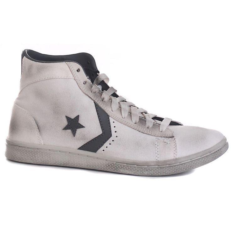 Scarpe-Sneakers-In-pelle-Sneakers-Pro-Leather-LP-Mid-Canvas-Converse-uomo
