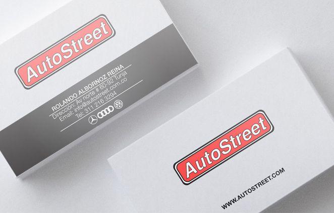 Diseño de Tarjetas AutoStreet