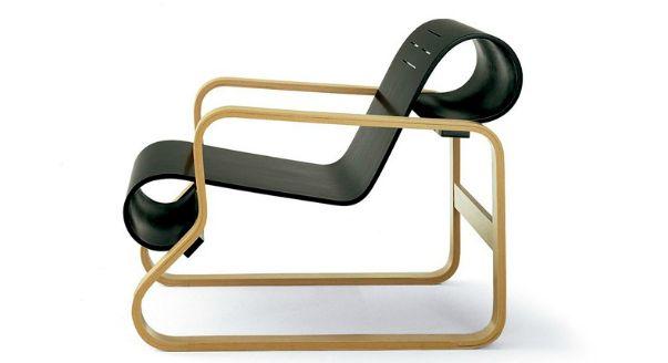 Кресло Art 505 фабрики Alivar, дизайн Aalto Alvar.